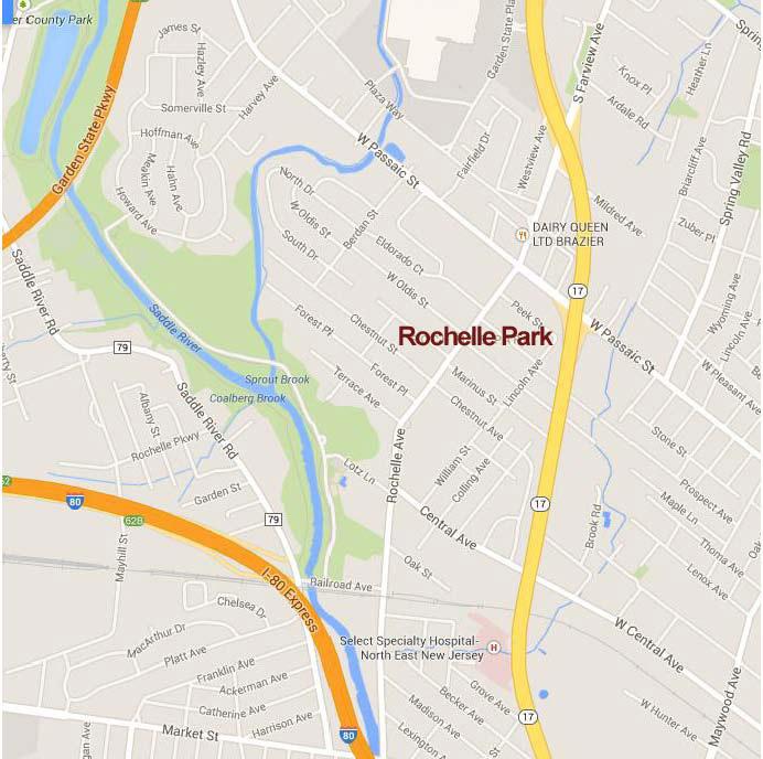 Rochelle Park map